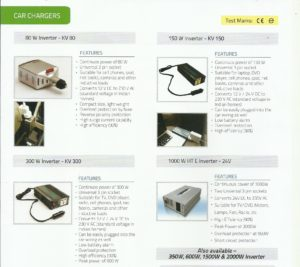 Inverter and chargers (1)